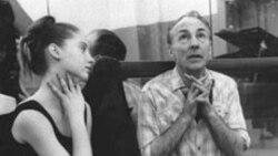 Джордж Баланчин и Сюзанн Фаррелл. Нью-Йорк. 1963 г.