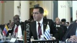 Ante la OEA Venezuela acusa a EE.UU.