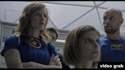 "Jessica Chastain plays Mars mission commander Melissa Lewis in ""The Martian."""