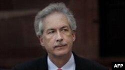 Заместитель госсекретаря США по политическим вопросам Уильям Бернс (архивное фото)