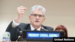Ketua Majelis Umum PBB Mogens Lykketoft.