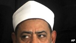 Ahmed el-Tayeb, the grand sheik of Cairo's Al-Azhar (File Photo)