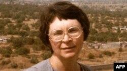 Ольга Французова в Израиле в середине 90-х