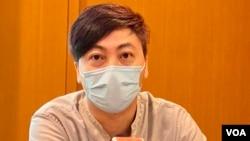 前香港政策透視主席、社工龔偉森表示,當香港公民社會失去政黨的凝聚,年青人有很多天馬行空的想法,希望去發聲,尋找未來的出路。(美國之音湯惠芸)