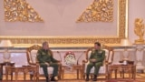 Russia Defense Minister Sergei Shoigu - Min Aung Hlaing