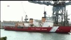 2014-01-07 美國之音視頻新聞: 美國北極星號破冰船赴南極救援中俄船隻