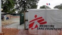 Entrenamiento ebola en la red