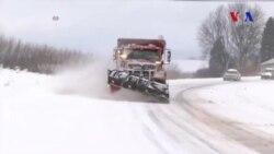 Amerika'nın Kuzeyinde Yoğun Kar Yağışı