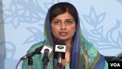 Hina Rabbani Khar, dilantik sebagai Menteri Luar Negeri perempuan pertama Pakistan.