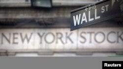 纽约华尔街的纽约证券交易所