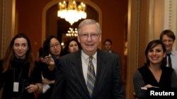 Kiongozi wa walio wengi katika baraza la senet m-Republican, Mitch McConnell