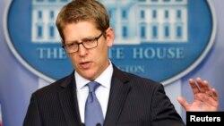 El portavoz de la Casa Blanca, Jay Carney, dijo que el gobierno estadounidense no dudará en aumentar las sanciones contra Rusia, si este país no detiene la intervención sobre Ucrania.