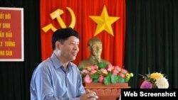 Thứ trưởng Ngoại giao Việt Nam Nguyễn Quốc Cường, Chủ nhiệm Ủy ban Nhà nước về người Việt Nam ở nước ngoài. Photo Quehuongonline