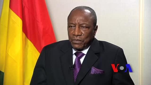 Interview du président guinéen Alpha Condé sur la VOA