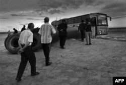 Markaziy Osiyodan Rossiyaga ishchi tashiydigan avtobuslar bor