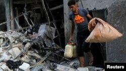 敘政府5月28日空襲導阿勒頗後。
