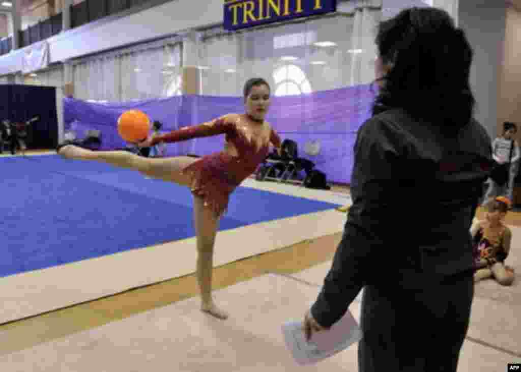 Художественная гимнастика в США: российская составляющая