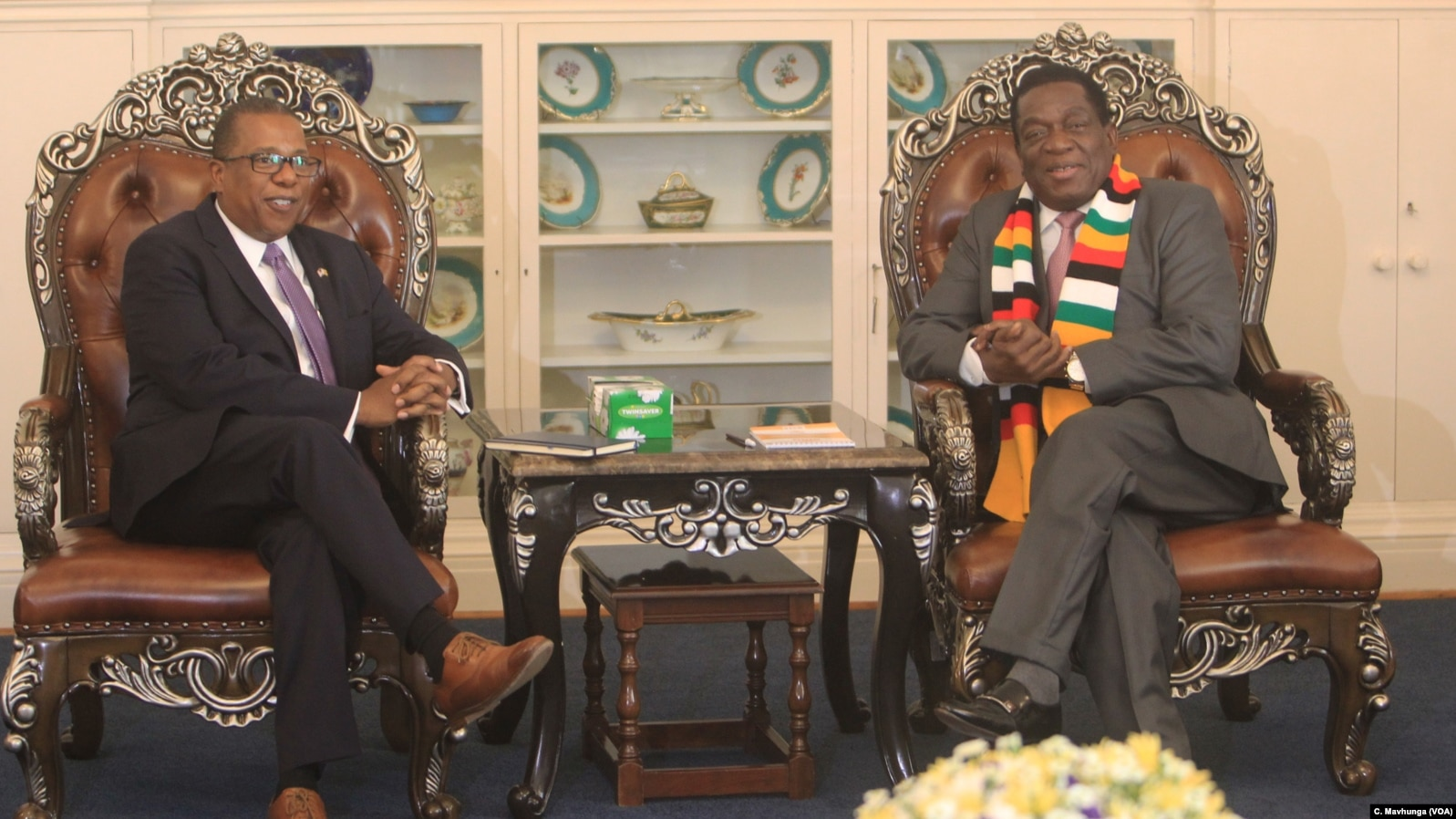 US Ambassador to Zimbabwe: Sanctions Removal Linked to Genuine Reforms