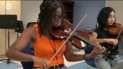 Бесплатные уроки музыки для детей из бедных семей Балтимора