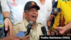 Ketua BPN Prabowo-Sandi, Djoko Santoso, sebagai pihak pemohon pelanggaran administratif Pilpres ke Mahkamah Agung (foto: dok).