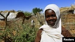 지난해 11월 수단 남부 다르푸르의 난민 캠프. (자료사진)