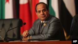 Le président égyptien Abdel Fattah al-Sissi , 29 mars 2015.