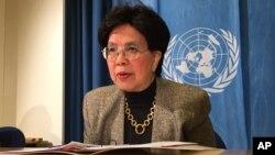 Người đứng đầu tổ chức Y tế Thế giới WHO Margaret Chan.