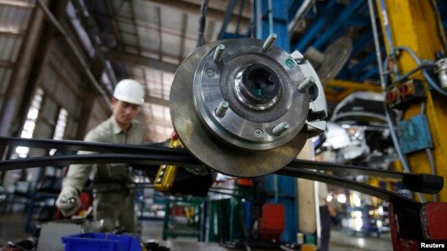 Nhà máy lắp ráp xe Ford ở tỉnh Hải Dương.