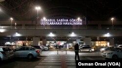 Pemandangan pintu mask utama Bandara Sabiha Gokcen, Istanbul. (Foto: dok.)