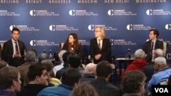 نشست اندیشکده کارنگی برای بررسی پژوهشی درباره سرکوب اعتراضات در ایران و حملات سایبری سپاه