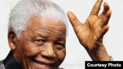 Former South African President Nelson Rolihlahla Mandela