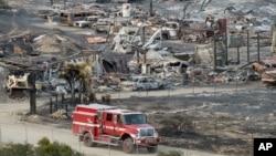 Kebakaran hutan Blue Cut di California Selatan telah menghancurkan lebih dari 300 rumah dan bangunan (foto: dok).