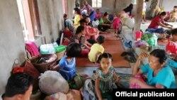 ရခိုင္ဒုကၡသည္မ်ား (သတင္းဓာတ္ပံု - Rakhine Ethnics Congress)