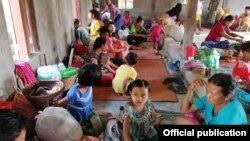 ရခိုင္စစ္ေရွာင္ဒုကၡသည္မ်ား။ (ဓာတ္ပံု - Rakhine Ethnics Congress)