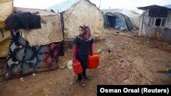 Msichana wa Syria aliyekoseshwa makazi