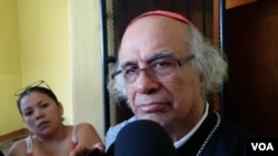 Durante los últimos meses, la Iglesia católica ha sido víctima de ataques de la Policía Nacional, que ha intentando frenar a los manifestantes que se refugian dentro de los templos.