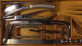 Autopsy tools from the early 1900's (Photo: NMHM)