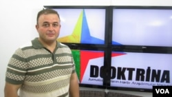 """""""Doktrina"""" Hərbi Araşdırmalar Mərkəzinin rəhbəri Cəsur Sümərinli"""