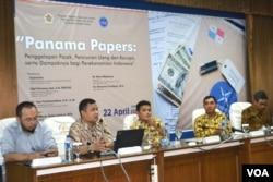 印尼人讨论巴拿马文件(2016年4月22日)
