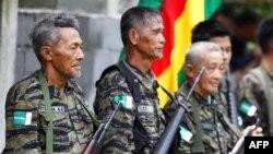 Para anggota Moro Islamic Liberation Front (MILF) di Mindanao, Filipina. (Foto: Dok)