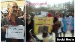 معلمان در شهرهای مختلف ایران اسفند ماه گذشته تجمعات اعتراضی برپا کردند.