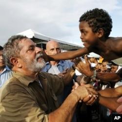 Former Brazilian president Luiz Inacio Lula da Silva made reducing hunger one of his government's highest priorities.