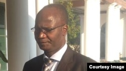 'Ousted' Information Minister Jonathan Moyo.