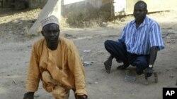 Des victimes de la polio à Kano, au Nigéria