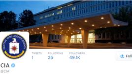 CIA, në Twitter dhe Facebook
