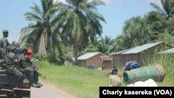 Le gouvernement congolais vient de décider de déplacer de Beni pour Eringeti, le commandement des opérations SOKOLA 1, en RDC, le 8 mai 2016.