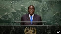 'Bekungamelanga uMugabe Angene Umhlangano weUnited Nations General Assembly'