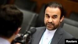 رضا نجفی، نماینده ایران در آژانس
