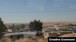 Nepriznato beduinsko naselje u izraelskoj pustinji Negev.