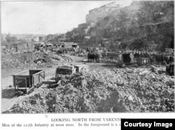 28th Div Varennes Engineer Depot
